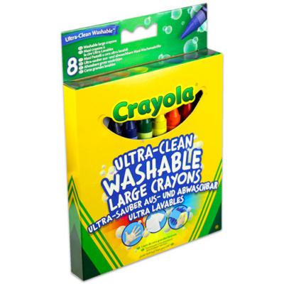 Crayola - Kimosható zsírkréta - 8 db