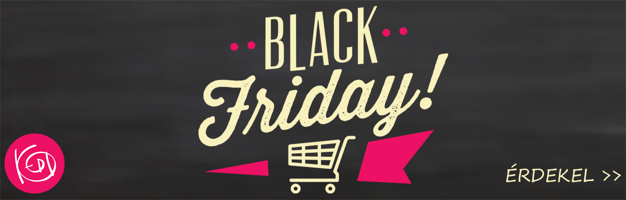 Black Friday a KEDDshopban!