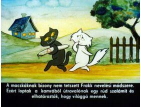 Diafilm - Frakk és a lusta macskák