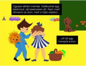 Diafilm - Laci és az oroszlán