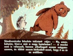 Diafilm - A nagyhatalmú Sündisznócska
