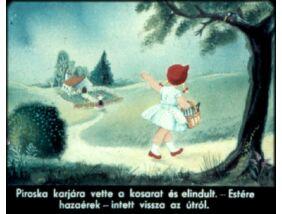 Diafilm - Piroska és a farkas