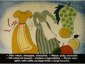 Diafilm - Szóló szőlő, mosolygó alma, csengő barack