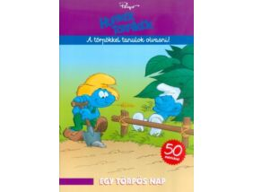 Hupikék Törpikék-Egy törpös nap foglalkoztató könyv