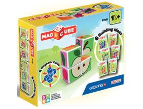 Geomag - Magicube mágneses építőkockák - gyümölcs