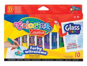 Colorino Creative üvegfóliafesték készlet, 10x10,5ml