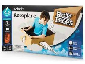 Makedo - BoxProps Közlekedés Repülőgép