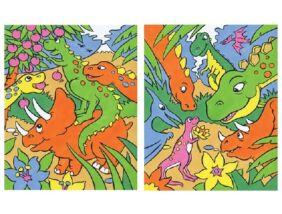 Reeves Első festményem-Dinoszaurusz
