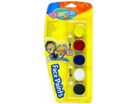 Colorino arcfesték,tégelyes 5 db-os