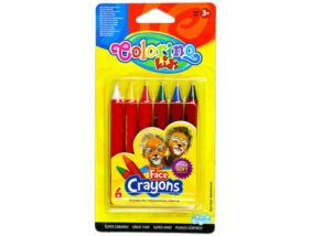 Colorino arcfestő krétakészlet 6 db-os