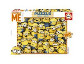 Educa Minyonok fa puzzle 100 darabos