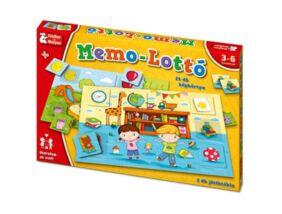Memo-Lottó készségfejlesztő játék
