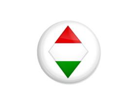 Kedd kitűző - Zászló - Minta 5