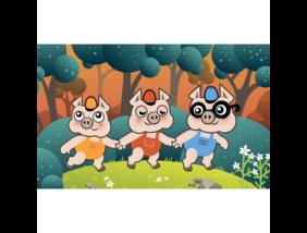 Diafilm - A három kismalac
