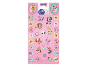 Littlest Pet Shop - Matrica - rózsaszín