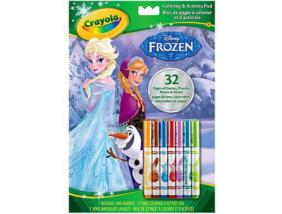 Crayola - Jégvarázs - Kifestő és Foglalkoztató