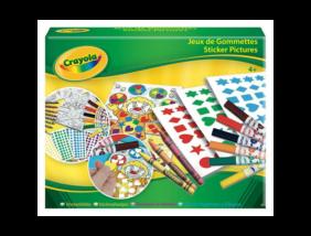 Crayola - Foglalkoztató készlet matricákkal