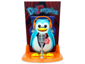 DigiPingvin - Mikrofonnal