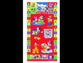 Mickey Egér - Karácsonyi matrica - 10x20 cm