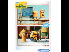 Clementoni - Minyonok - Puzzle - 2x20 darabos