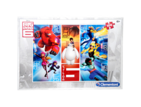 Clementoni - Big Hero 6 - Puzzle - 100 db-os