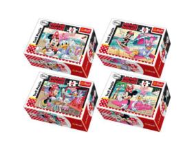 Trefl - Minnie egér - 54db-os mini puzzle
