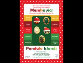 Mesekavics - Karácsonyi kavicsfestő készlet