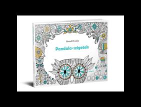 Pandala-szigetek kifestő könyv