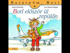 Bori először ül repülőn
