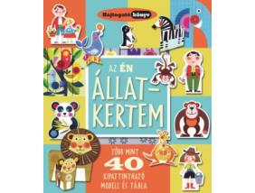 Hajtogató könyv - Az én állatkertem