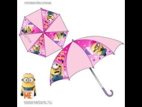 Minion, Minyon - Esernyő - rózsaszín