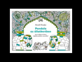 Pandala az állatkertben kifestő könyv