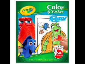 Crayola - Szenilla nyomában - Kifestő matricával