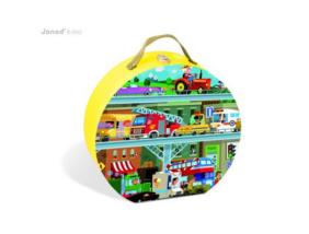 Janod - Járművek puzzle - 100 db-os