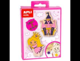 Apli Kids - Mini Kit - Figura kifestő - Hercegnő