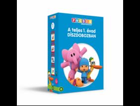 POCOYO DVD 1-2-3-4, A teljes 1. évad díszcsomagolásban
