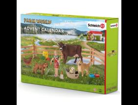 Schleich - Adventi naptár - Farm