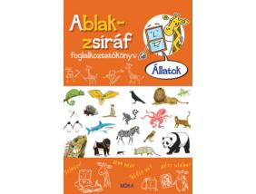 Ablak Zsiráf foglalkoztatókönyv - Állatok