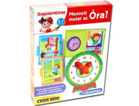 Sapientino - Fejlesztő társasjáték - Mennyit mutat az óra?