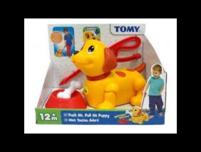 Tomy - Zenélő Kutyus tologató