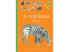 A szavanna állatai - Kis felfedező - Matricás album