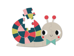 Janod - Bébi mini puzzle - Csiga