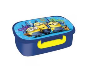 Minion, Minyon - Uzsonnás doboz - kék