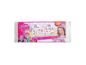 My Little Pony - Mini tetoválás készlet - 25 db-os