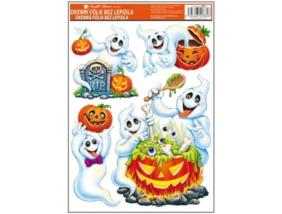 Halloween - Ablakdekor Matrica