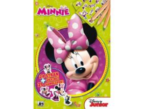 Minnie egér - Foglalkoztató könyv matricákkal