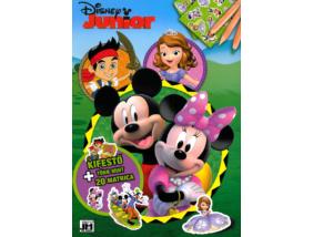 Disney Junior - Foglalkoztató könyv matricákkal