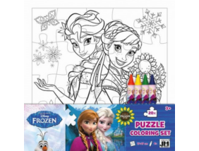 Jégvarázs - Puzzle színező
