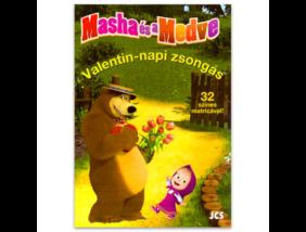 Mása és a Medve - Valentin-napi zsongás foglalkoztató könyv