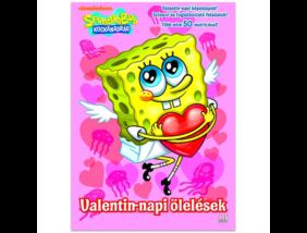 SpongyaBob - Valentin-napi ölelések - foglalkoztató könyv